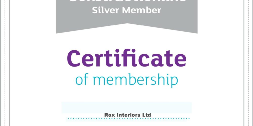 Rox is a Construction Line Silver Member again for another year