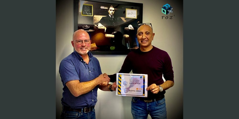 Monthly external Health & Safety Audits – Tony scores 100%